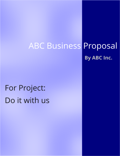 business proposals writers